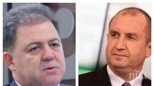 ОТ УПОР: БЗНС с остра позиция за Румен Радев! Питат службите - има ли уличаваща информация за държавна измяна на президента