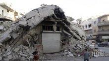 Русия е регистрирала 34 нарушения на примирието в Сирия