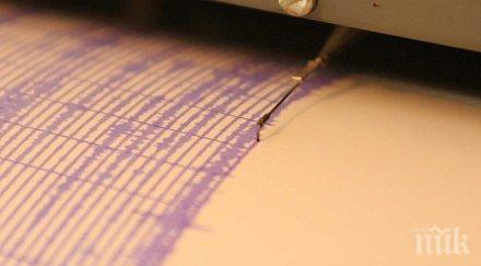 Земетресение с магнитуд 4.7 по Рихтер разтърси Анкара