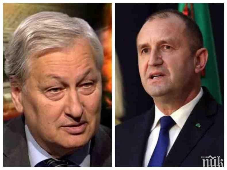 ЕКСКЛУЗИВНО В ПИК: Откривателят на Румен Радев - Решетников, се сбогува с България! Вижте емоционалните думи на бившия генерал от КГБ