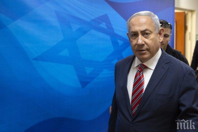 """Нетаняху смята, че САЩ ще останат с """"твърда"""" позиция по отношение на Иран, въпреки оставката на Болтън"""