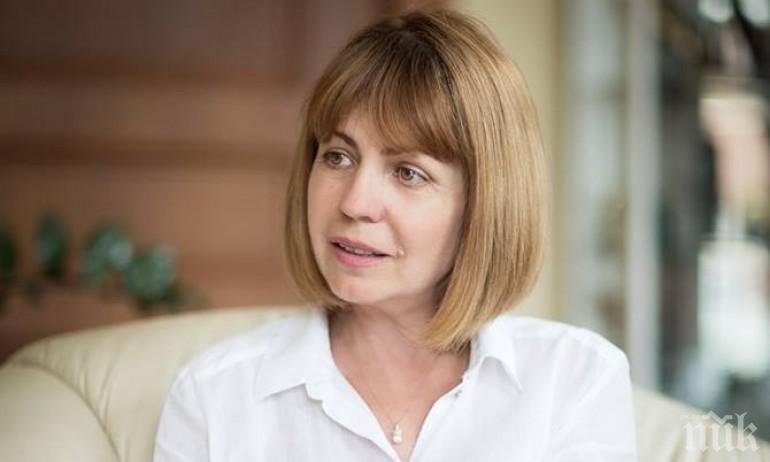 Фандъкова: Нека Сидеров да представи своята политическа сила на изборите в София