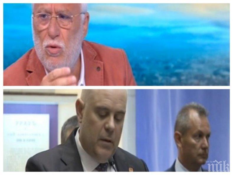 ЕКСКЛУЗИВНО: Гебрев се дистанцира от Цветан Василев и руските шпиони, вярва в Гешев и премиера