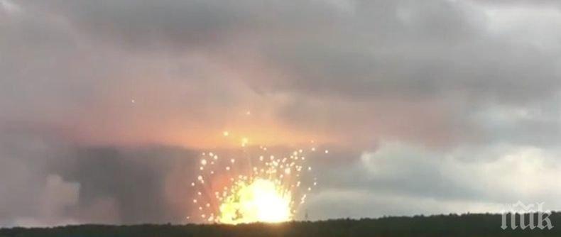 Взриви се турска военна база в Северен Кипър