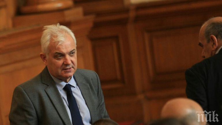 Явор Нотев вече не е зам.-председател на парламента