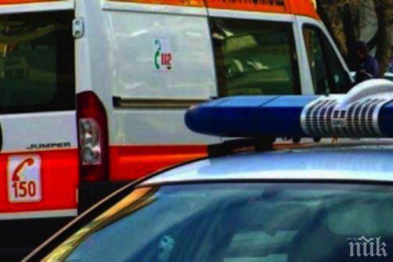 Страшна каскада в Разлог, ранени са дете и жена