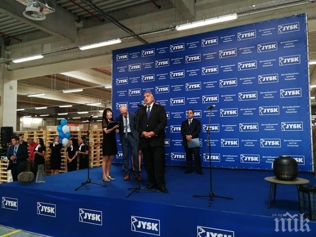 Бойко Борисов: Асфалтът не се яде, но създава инвестиции