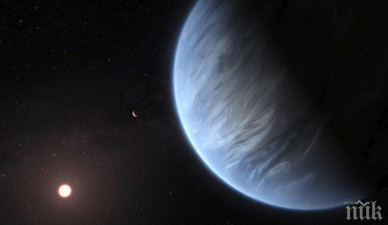 Откриха вода на планета, на която може да има живот