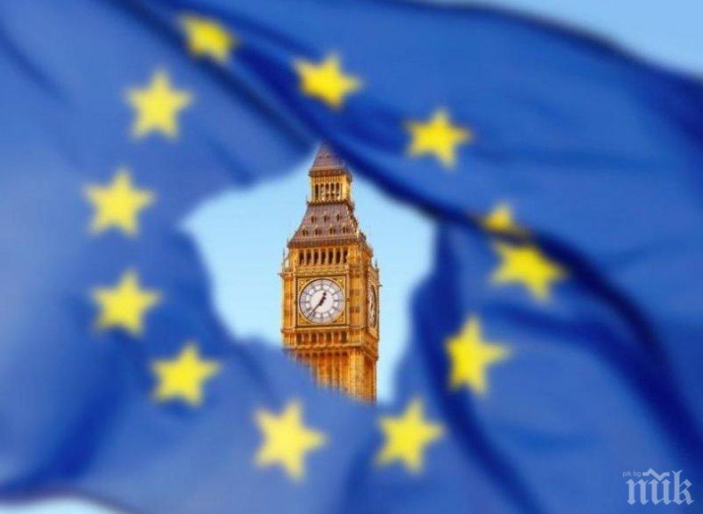 Британското правителство с мрачни прогнози в случай на Брекзит без сделка