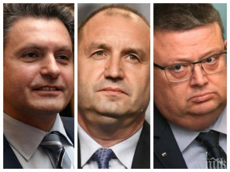 Румен Радев гузен негонен бяга - в паника от разкритията за Николай Малинов май се саморазобличи