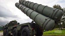 Втората батарея руски системи за противовъздушна отбрана С-400 пристигнаха в Турция