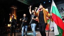НА КОНЦЕРТ ВЪВ ВАРНА: Графа и Next Time развяха българското и македонското знаме (СНИМКИ)