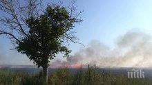 Пламна склад край Средец, огнеборци от Бургас пътуват към мястото