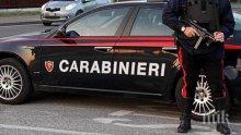 Въоръжен с ножица мигрант нападна италиански военен