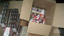 22 800 къса цигари задържаха митничарите на Калотина
