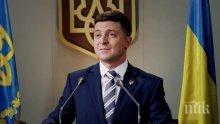 Украинците доволни от работата на президента Зеленски