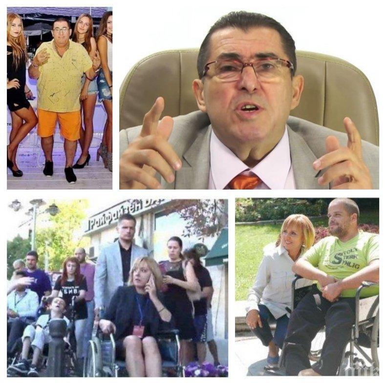 САМО В ПИК! Най-колоритният кандидат за кмет Митьо Пищова попиля Мая Манолова: Фурнаджийска лопата, прави си реклама с инвалидите! Аз с ГЕРБ се родих и с ГЕРБ ще мра!