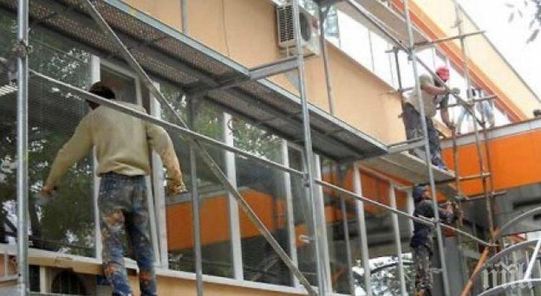 Над 50 училища в страната започват работа, преди ремонтите в тях да са приключили