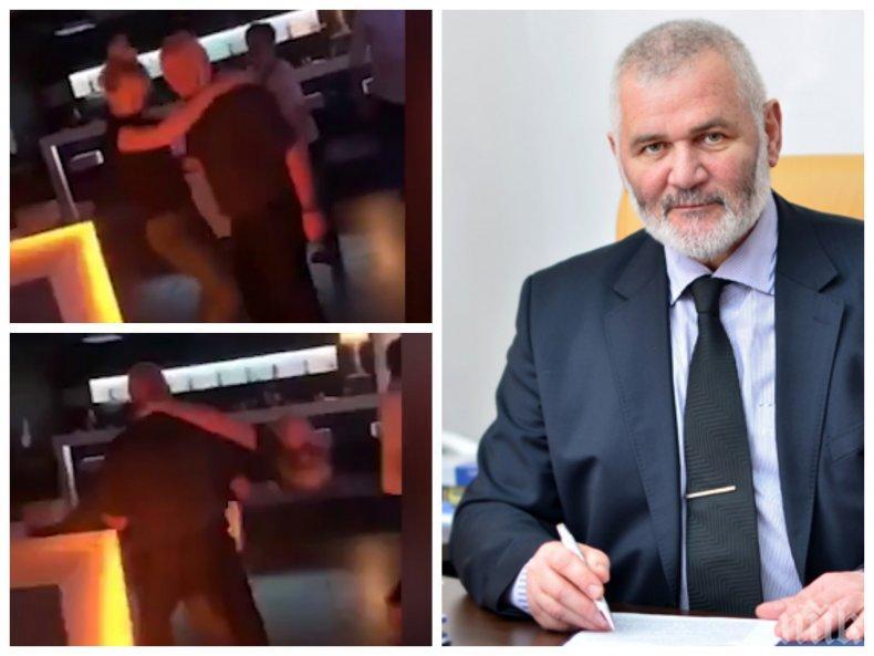 ЯК КУПОН В НОЩЕН БАР: Мръсни танци с кмета на Силистра от ГЕРБ. Кръшна блондинка се отърква в скута на кандидата на Борисов за трети мандат (ВИДЕО)