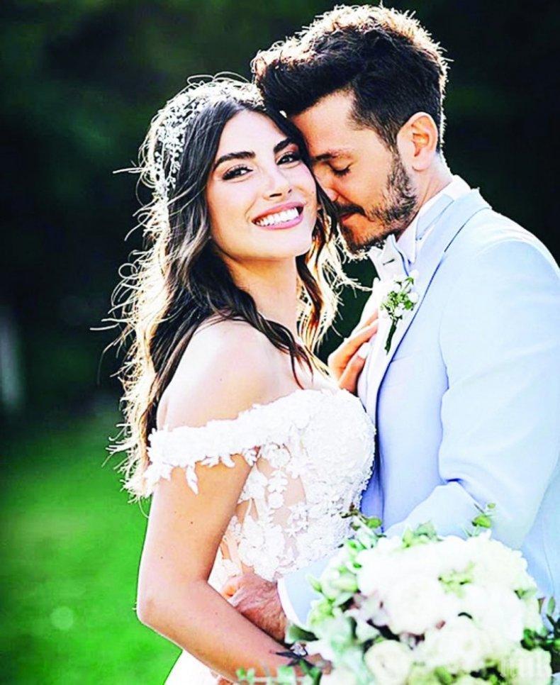 Хазан се омъжи на пищна сватба