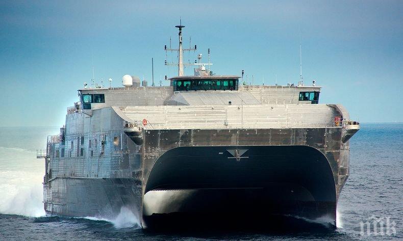 Кораб на Военноморските сили на САЩ навлезе във водите на Черно море