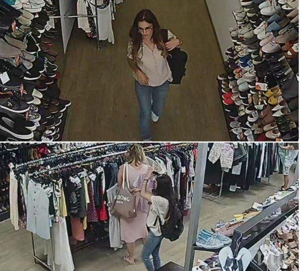 Млада жена обра клиентки на магазин в центъра на Пловдив. Познавате ли я
