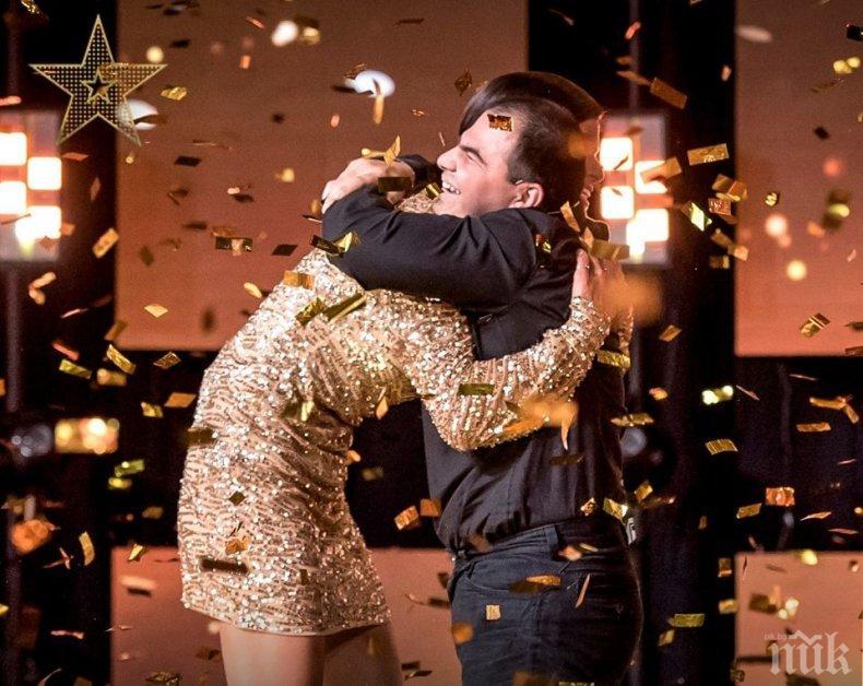 """Аудио касета с хумор отключила дарбата на незрящия финалист в """"България търси талант"""" (ВИДЕО)"""