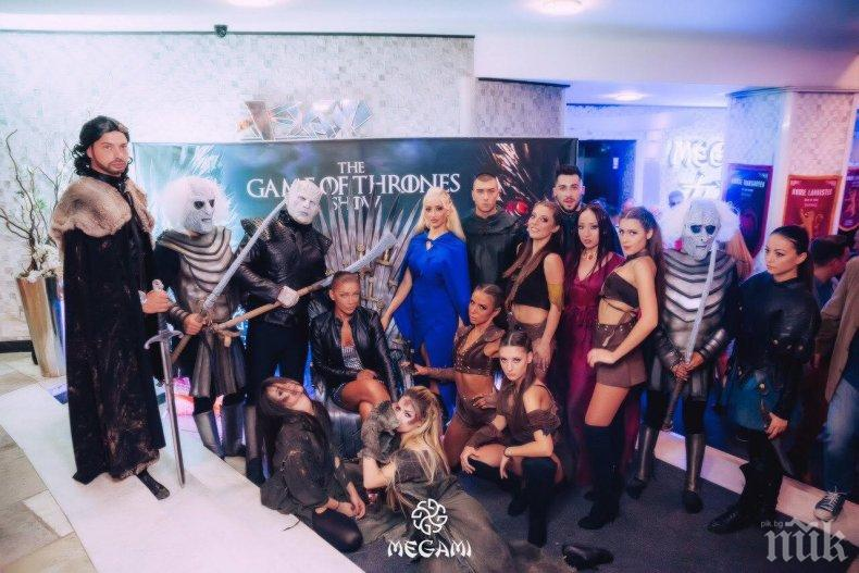 Megami Club – Hotel Marinela откри новия парти сезон с впечатляващото шоу The Game of Thrones (ГАЛЕРИЯ)