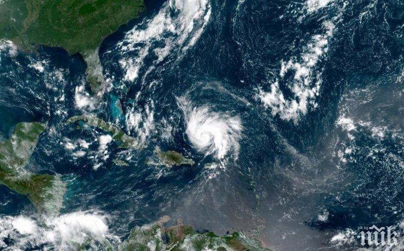 Бурята Умберто в Атлантическия океан стана ураган