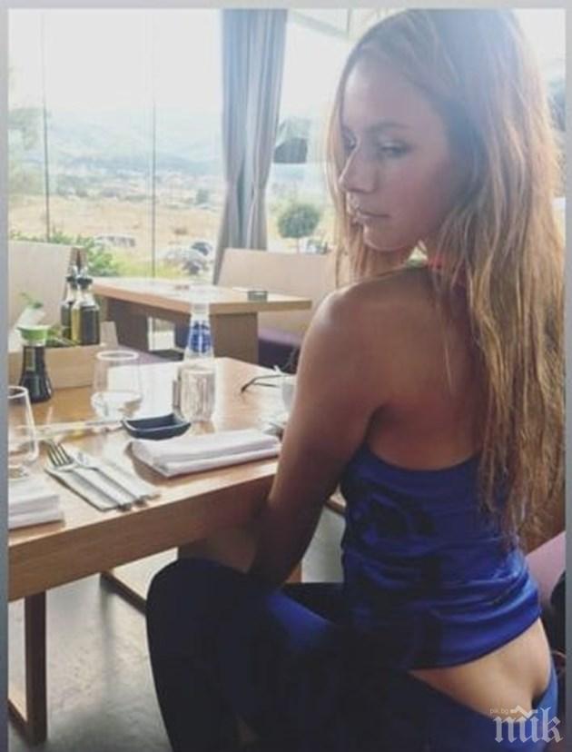 НОВ ХИТ: Покажи си касичката! Секси тенисистката Юлия Стаматова заголи цепката на дупето си