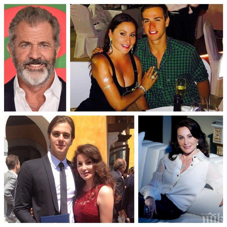 КИНОБОС: Синът на Дарина Павлова стана шеф на Мел Гибсън - Илия-Калоян с годишна заплата от 200 хил. долара