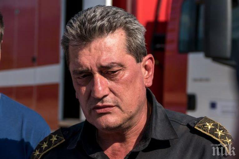 """ОТ ПОСЛЕДНИТЕ МИНУТИ: Борисов """"изстреля"""" шефа на пожарната към Рилския манастир"""