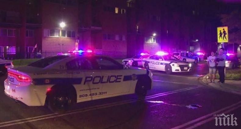 Един убит и много ранени при стрелба в предргадие на Торонто