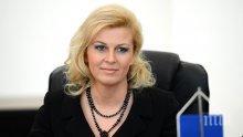 Проучване: Президентът на Хърватия Колинда Грабар-Китарович губи подкрепа