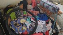 НЕЧОВЕШКО: Майка гледа трите си деца в изоставен хранителен магазин