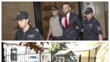 ПЪРВО В ПИК TV! НА СВОБОДА: Убиецът Джок Полфрийман излезе от Централния софийски затвор (СНИМКИ)