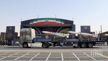 Иран показа нови балистични ракети на военен парад в Техеран