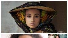 """ТРИУМФ: Наш модел на Седмицата на модата в Милано - Белослава Хинова победи 300 манекени за ревюто на """"Армани"""" (СНИМКА)"""