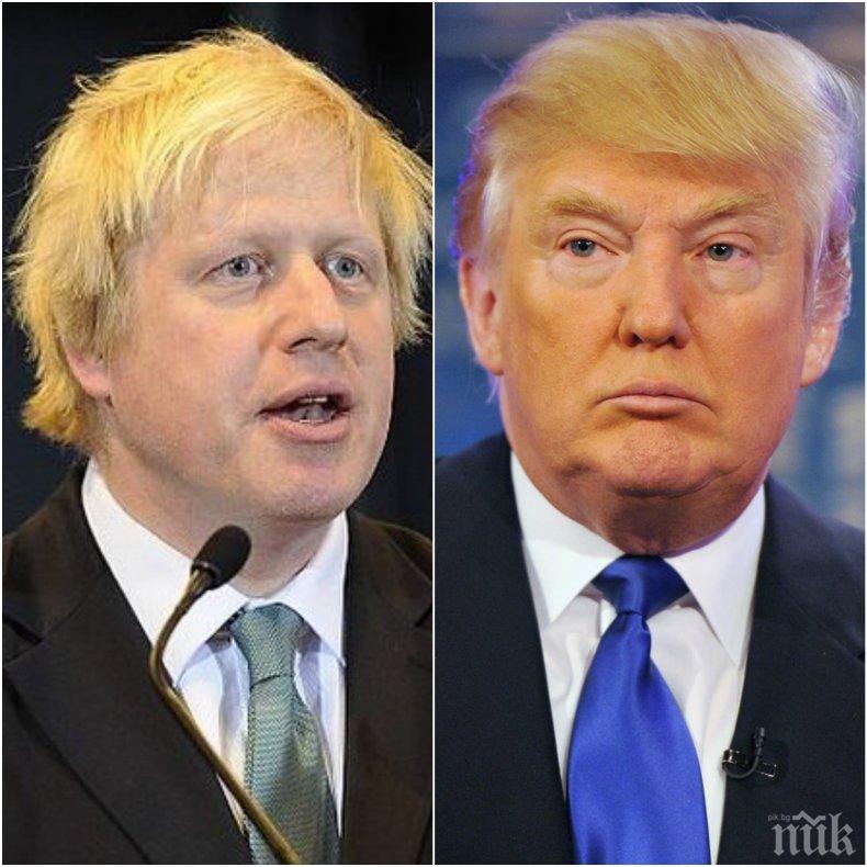 САЩ и Великобритания подписват търговска сделка до 2020 г.