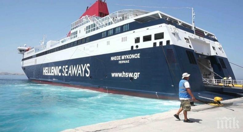 Стачка парализира морския транспорт в Гърция на 24 септември