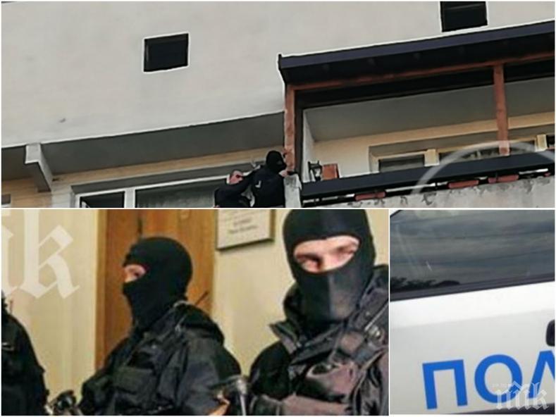 """САМО В ПИК: Отряд """"Кобра"""" обезвредил психично болния мъж в """"Овча купел"""" след нахлуване през балкона на 9-ия етаж"""