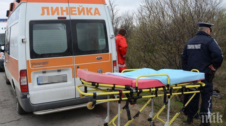 ТРУП НА ПЪТЯ: Кола помете пешеходец край летище Варна