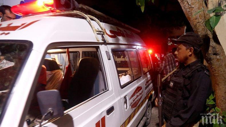 25 загинали и 20 ранени при инцидент с автобус в Пакистан