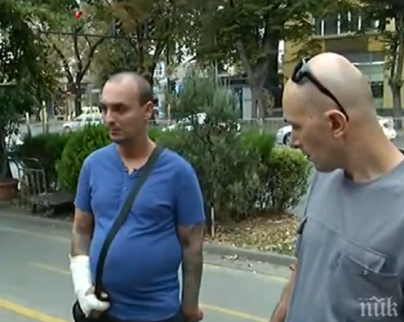 Питбул нахапа жестоко мъж във Варна