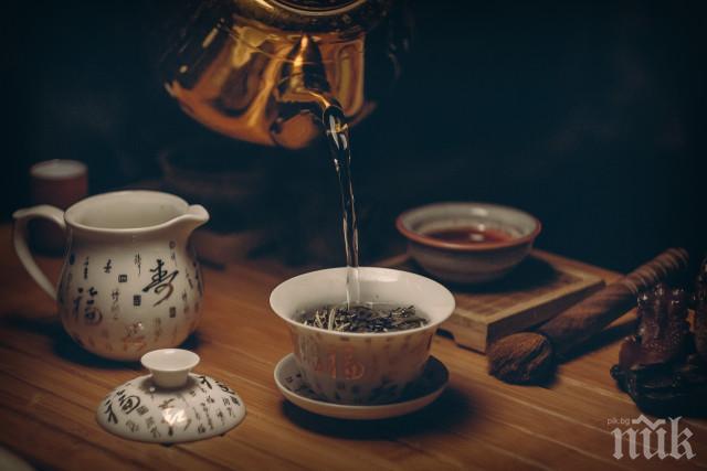 ПОЛЕЗНО: Пиенето на чай подобрява мозъчната функция