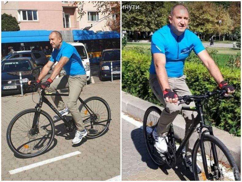 Радев на колело без НСО - лъжа или нарушение на закона?
