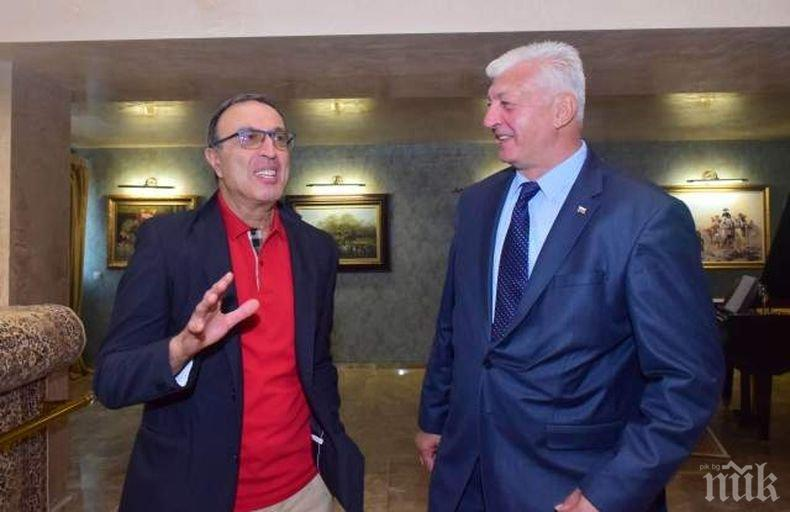 ПОДКРЕПА: Петър Стоянов със силни думи за кандидатурата на Зико за кмет на Пловдив