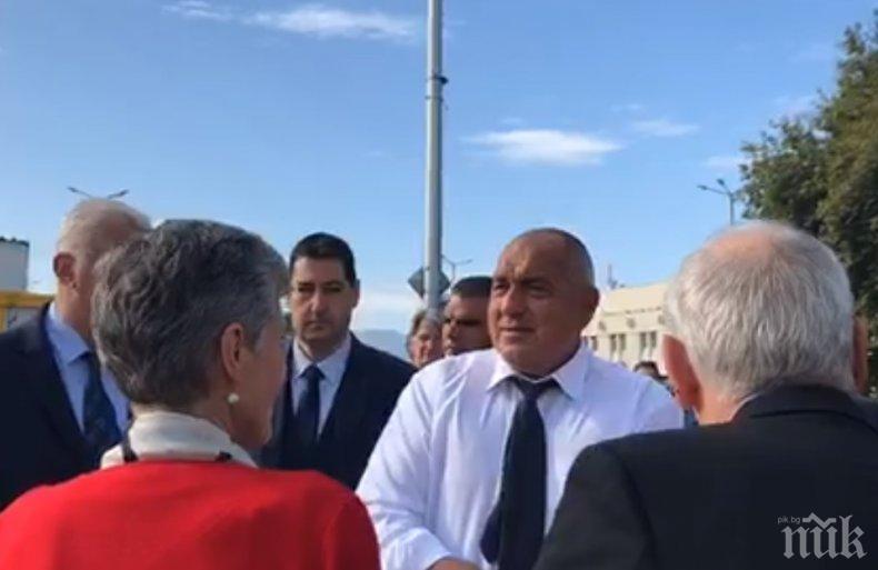 ПЪРВО В ПИК TV: Премиерът Борисов с нова инспекция - провери реставрацията на Голямата базилика в Пловдив (ОБНОВЕНА)