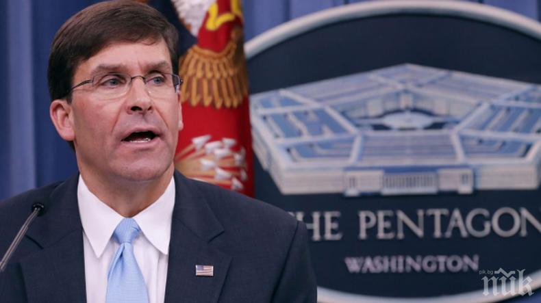 Шефът на Пентагона обяви кое е най-голямото предизвикателство за САЩ в областта на сигурността