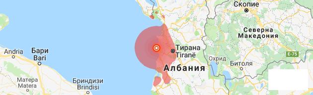 300 тремора регистрирани в Албания за едно денонощие